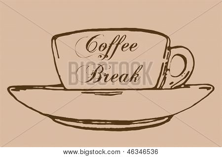 Coffee break vintage