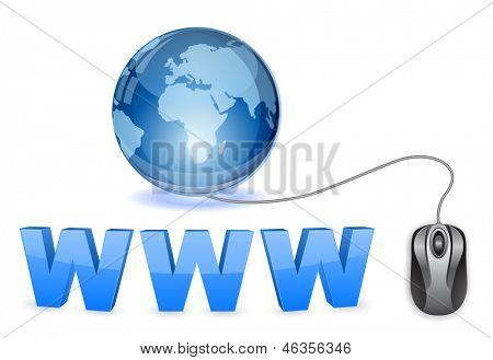 www globe concept