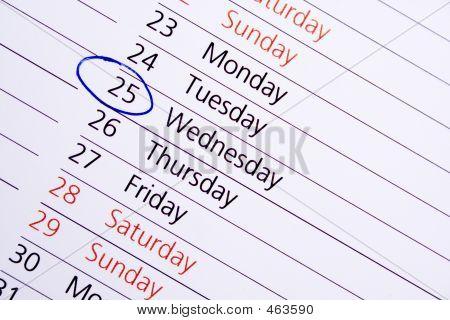 wichtiges Datum