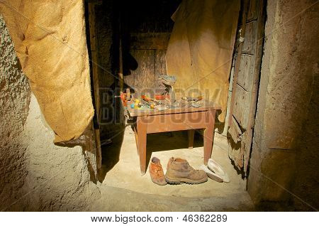 The Cobbler, Old Crafts, Abruzzo, Italy