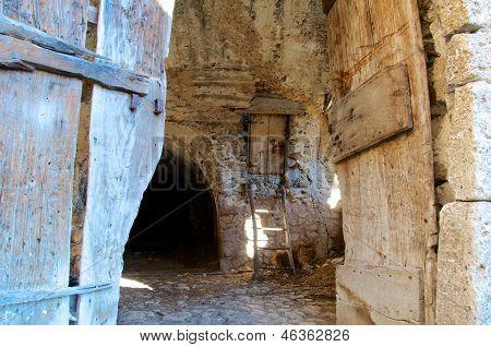 Old Barn Doors, Abruzzo, Italy