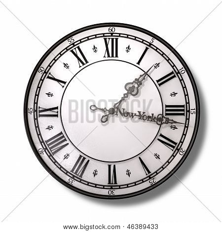 New York Minute Clock Hands