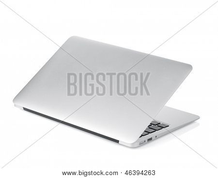 Laptop. Isolated on white background