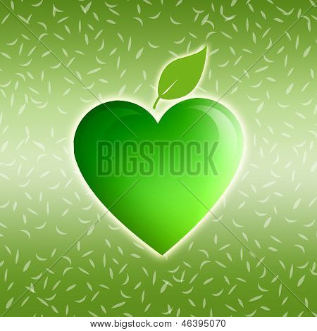 green heart for ecology