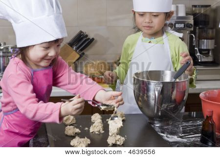Children Cooking