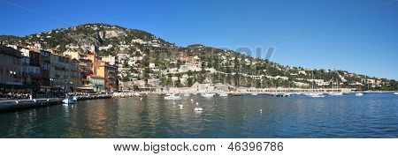 The Bay Of Villefranche-sur-mer