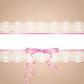 stock photo of garter  - Garter of bride - JPG