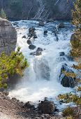 Yellowstone Firehole River Cascade