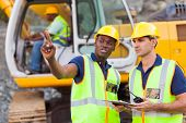 stock photo of heavy equipment operator  - co - JPG