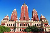 stock photo of swastika  - Laxmi Narayan temple in New Delhi India - JPG