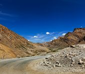 stock photo of manali-leh road  - Manali - JPG