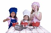 Постер, плакат: Дети Кулинария
