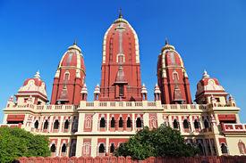 image of swastika  - Laxmi Narayan temple in New Delhi India - JPG