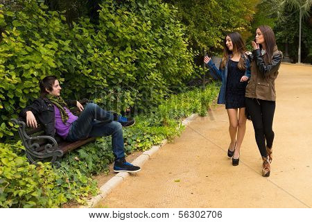 Park Flirt