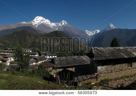 Beautiful morning in Ghandruk