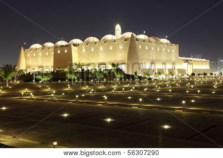 Abdul Wahhab Mosque in Doha, Qatar