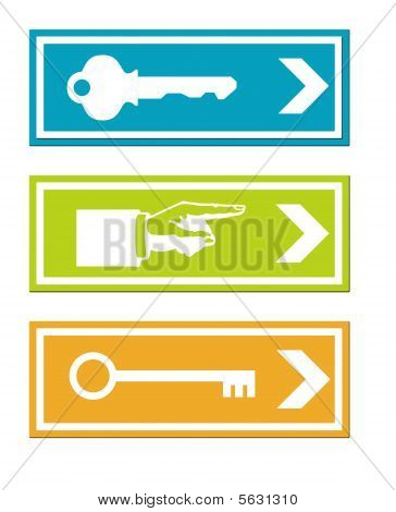 Business Keys Signs