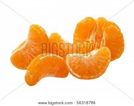 Tangerine Sements.isolated.