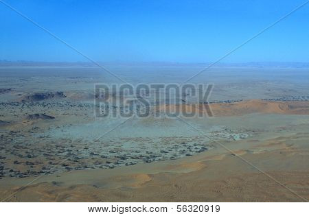 Aerial View Of Namib-naukluft