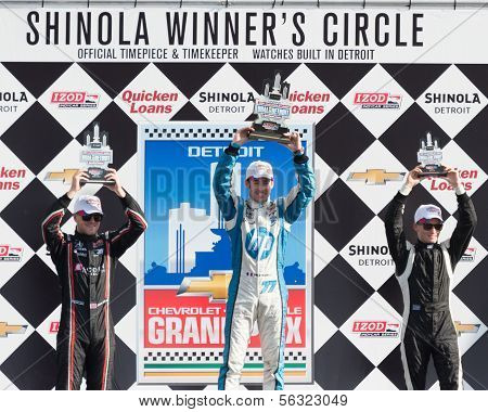 Winners Circle, Chevrolet Indy Dual II, held on Belle Isle, Detroit, MI