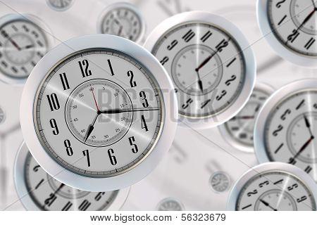 Relógios voadoras