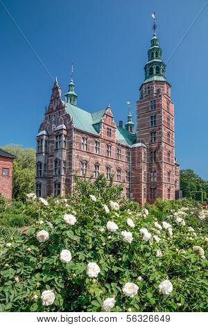 Rosenborg Palace In Copenhagen