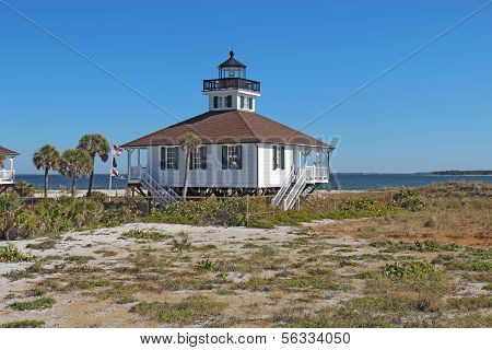 Port Boca Grande Lighthouse On Gasparilla Island, Florida