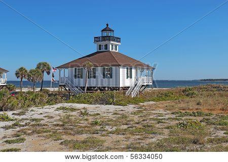 Port Boca Grande Lighthouse On Gasparilla Island, Florida