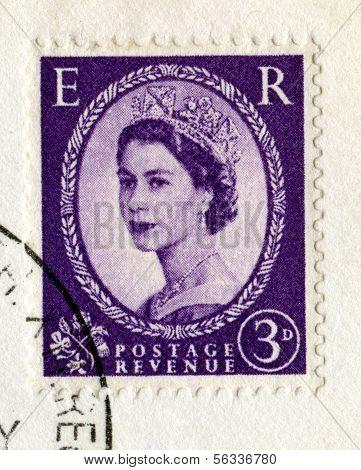 Vintage British Postage Stamp From 1967