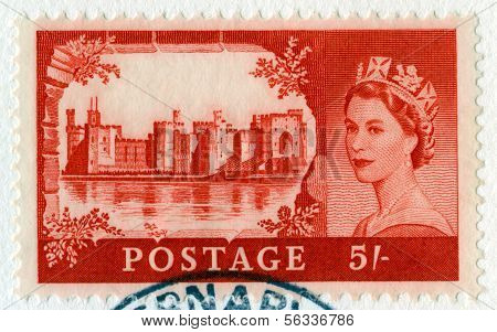 Vintage British Postage Stamp