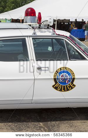 1968 Ford Galaxie Milwaukee Polizei Auto Emblem