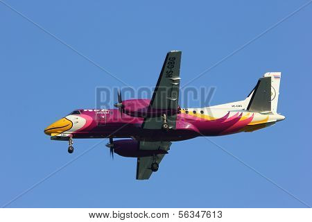 HS-GBG  Saab340 of Nokmini airline