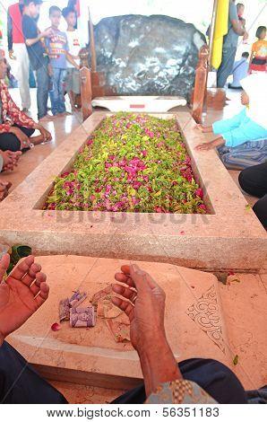 Soekarno's grave