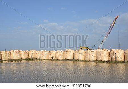 sandbags for protection