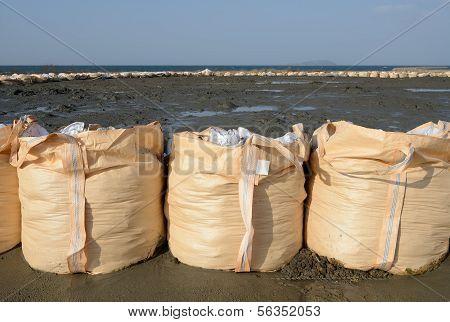 big sandbags for protection