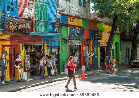 In The Streets Of La Boca
