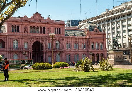 Casa Rosada - casa rosa