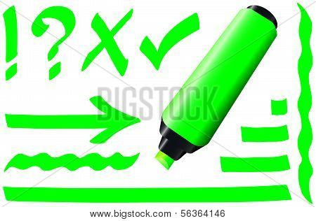 Fluorescent Marker Green