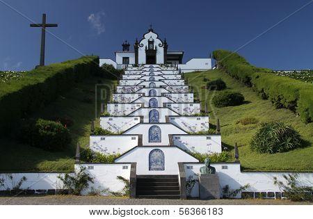 Church near Vila Franca do Campo (Azores)