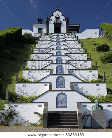 Church near Vila Franca do Campo (Azores) 02