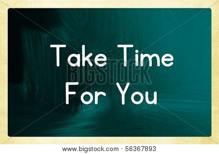 Take Time For You
