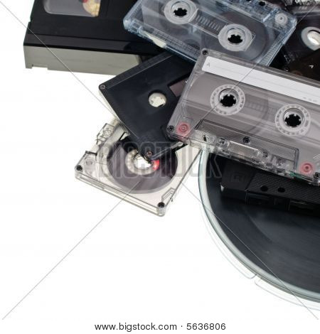 Audio Tape Background