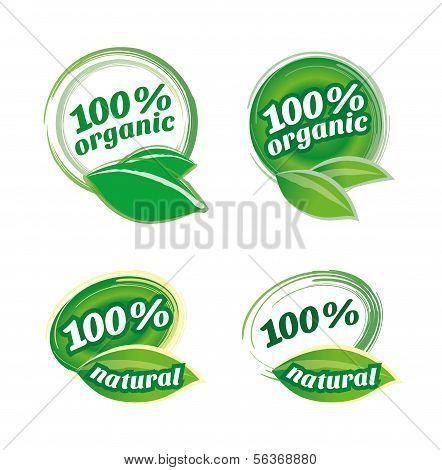 Organic Icons Set