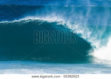Wave Water Crashing