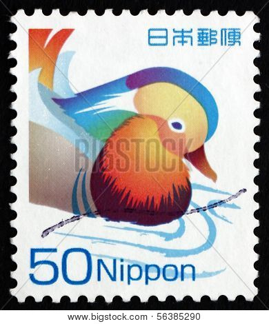 Postage Stamp Japan 2007 Mandarin Ducks, Bird