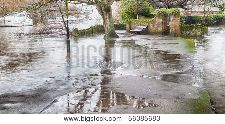 River Avon Major Flood 2014