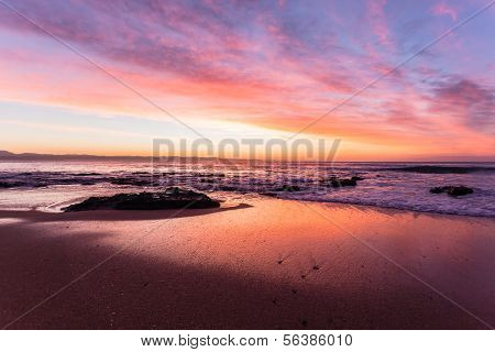 Beach Ocean Sky Color Reflections