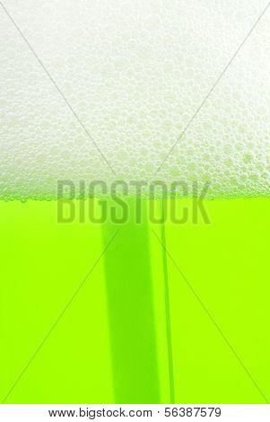 Seife flüssig Schaum Hintergrund