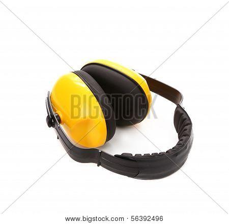 Proteção de fones de ouvido.