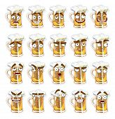 cute series of smiles beer